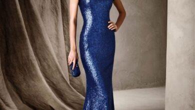 تصویر از کالکشن جدید لباس مجلسی برای خانم ها مدل ماهی | لباس مجلسی