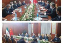 تصویر از دیدار وزرای خارجه ایران و چین در اجلاس شانگهای – ایرنا