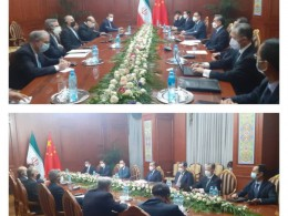 دیدار وزرای خارجه ایران و چین در اجلاس شانگهای - ایرنا