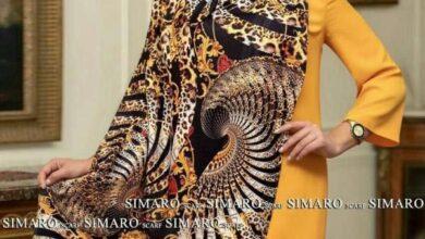 تصویر از انواع مدل شال و روسری پاییزی جدید ۱۴۰۰ در بهترین تنوع رنگ ها
