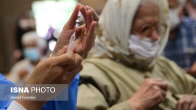 تصویر از اعلام آمار تفکیکی واکسیناسیون کرونا در کشور تا ۱۴ شهریور ماه