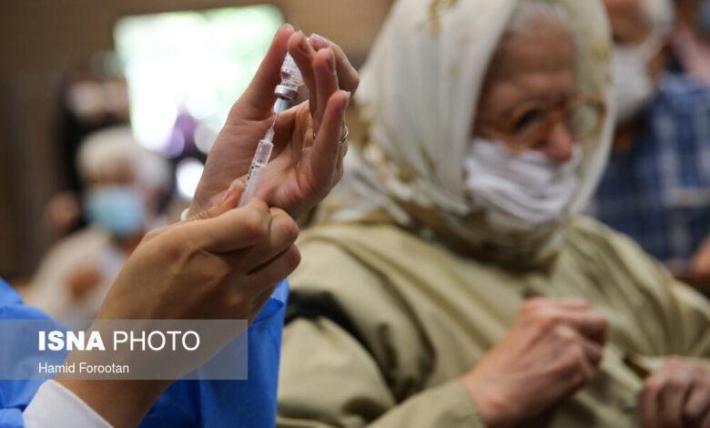 اعلام آمار تفکیکی واکسیناسیون کرونا در کشور تا ۱۴ شهریور ماه