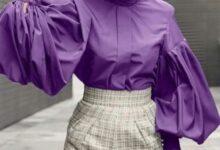 تصویر از مدل بلوز و شومیز مجلسی با آستین های فانوسی | استایل زنانه