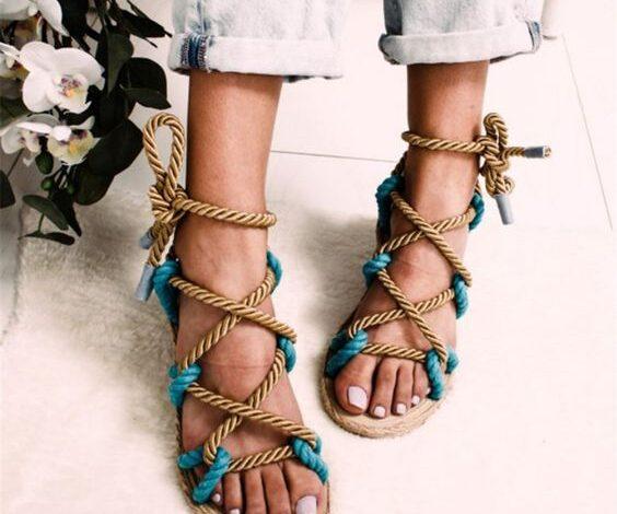 جدیدترین مدل کفش های دخترانه با طرح کنفی | کفش اسپرت