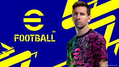 تصویر از سیستم مورد نیاز eFootball 22 مشخص شد(PES2022)