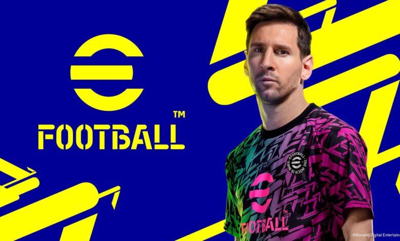 سیستم مورد نیاز eFootball 22 مشخص شد(PES2022)