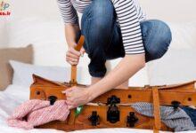 تصویر از بستن چمدان برای لباس های مورد نیاز سفر در پاییز | نکات برای سفر