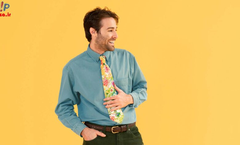 نکات مهم برای خرید و نوع انتخاب کراوات مردانه | اکسسوری