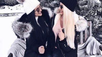 تصویر از تصاویری از مدل های جدید کلاه بافت دخترانه   استایل زمستانه