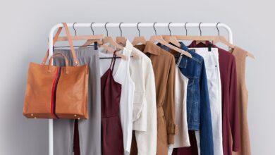 تصویر از ایدههای لباس تک رنگ برای فصل بهار و پاییز
