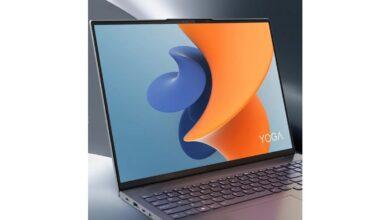 تصویر از لپ تاپ لنوو یوگا 16 اس (Lenovo Yoga 16S) معرفی شد ؛ مشخصات فنی و قیمت