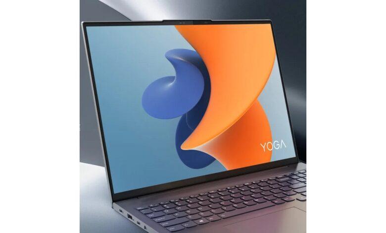 لپ تاپ لنوو یوگا 16 اس (Lenovo Yoga 16S) معرفی شد ؛ مشخصات فنی و قیمت
